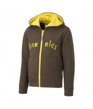 Brownie Hooded Zipped Top