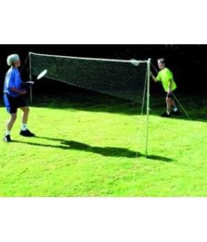 Badminton/Garden Tennis Net And Post Set