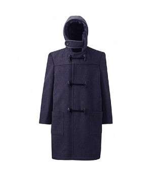 Oakfield Navy Duffle Coat