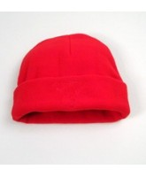 Red Fleece Hat
