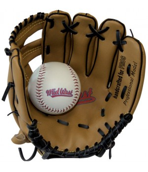 Baseball Junior Glove And Ball Set
